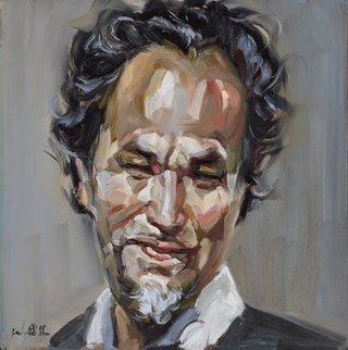 AGNSW prizes Wei Bin Chen The artist ‒ self-portrait no 6, from Archibald Prize 2015