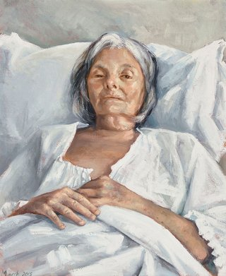 AGNSW prizes Peter Churcher The last portrait, from Archibald Prize 2015