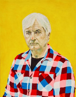 AGNSW prizes Samuel Rush Condon Jarratt, from Archibald Prize 2015