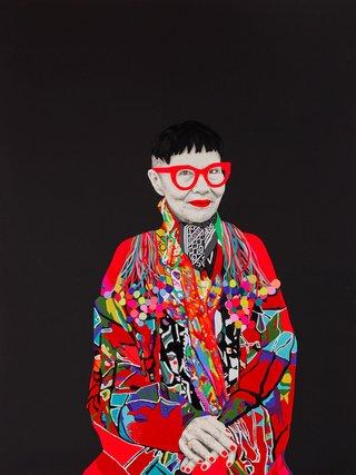 AGNSW prizes Carla Fletcher Jenny Kee, from Archibald Prize 2015