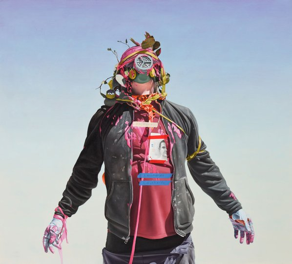 AGNSW prizes Juan Ford A bungled clairvoyance..., from Archibald Prize 2015
