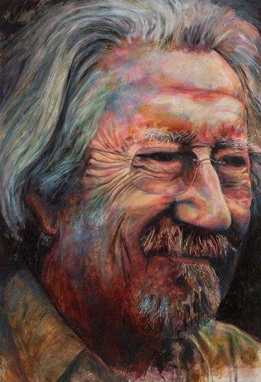AGNSW prizes Bruno Jean Grasswill Michael Caton, from Archibald Prize 2015