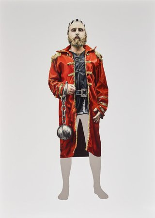 AGNSW prizes Tim Gregory Self-portrait as ancestors, from Archibald Prize 2015