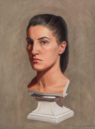 AGNSW prizes Tsering Hannaford Objet démodé, from Archibald Prize 2015