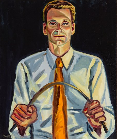AGNSW prizes Stewart MacFarlane Cory Bernardi, from Archibald Prize 2015
