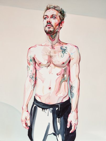 AGNSW prizes Julian Meagher Daniel Johns, from Archibald Prize 2015