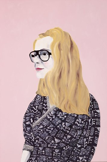 AGNSW prizes Sally Ross Eva, from Archibald Prize 2015