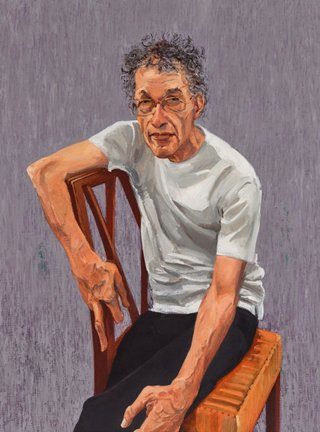 AGNSW prizes Andrew Sayers Portrait of Tim Bonyhady, from Archibald Prize 2015