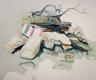 AGNSW prizes Julian Meagher The fatal shore (island life), from Wynne Prize 2015