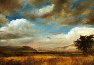 AGNSW prizes Celia Morgan Terra nullius, from Wynne Prize 2015