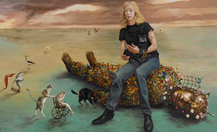 AGNSW prizes Paul Jackson Jo, from Archibald Prize 2013