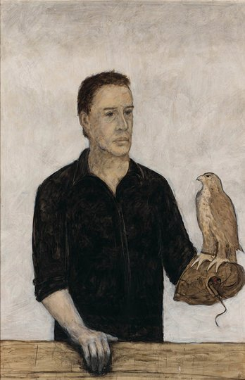 AGNSW prizes Bruce Armstrong Self portrait, from Archibald Prize 2005