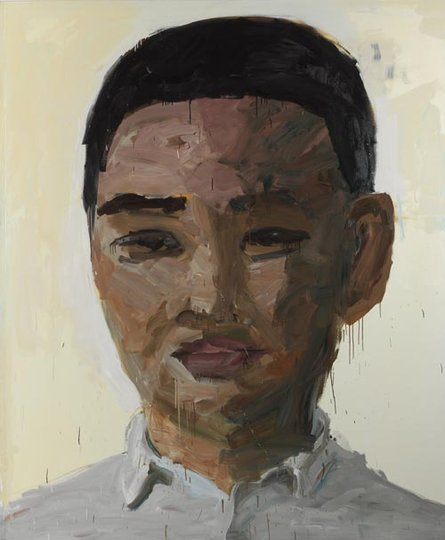 AGNSW prizes Zhong Chen Self portrait, from Archibald Prize 2007