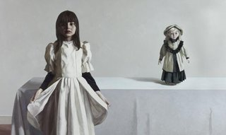 AGNSW prizes Zai Kuang Sarah and the doll, from Archibald Prize 2007