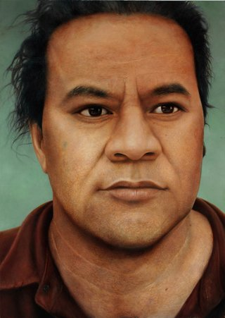 AGNSW prizes Martin Ball John Pule, from Archibald Prize 2005