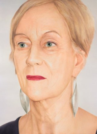 AGNSW prizes Martin Ball Jacqueline Fahey, from Archibald Prize 2010