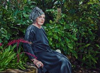 AGNSW prizes Natasha Bieniek Wendy Whiteley, from Archibald Prize 2016