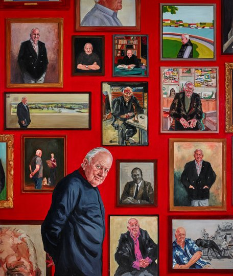 AGNSW prizes Joanna Braithwaite Hall of fame – portrait of Pat Corrigan, from Archibald Prize 2018