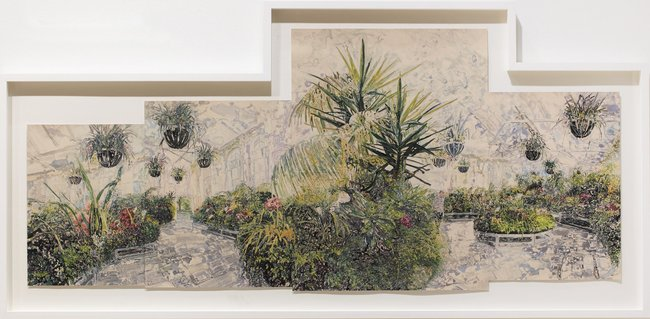 AGNSW prizes Leah Bullen Conservatory no 2, from Wynne Prize 2016