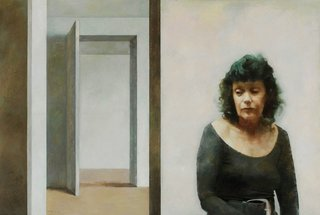 AGNSW prizes Adam Chang Gene & the doorway, from Archibald Prize 2005