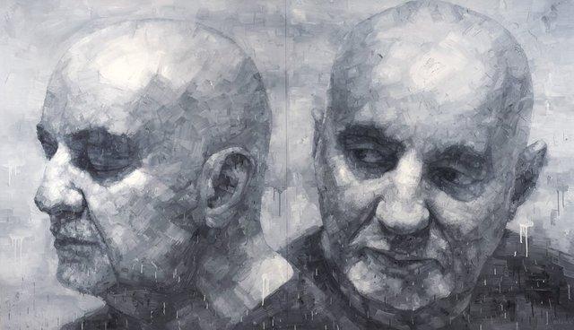 Two eyes - closing to open (Simeon Kronenberg)