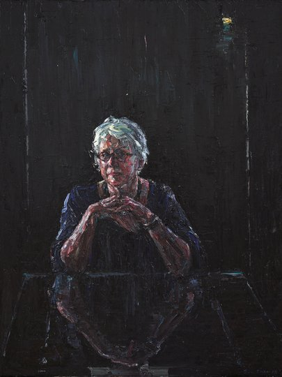 AGNSW prizes Jun Chen Judith Bell, from Archibald Prize 2018