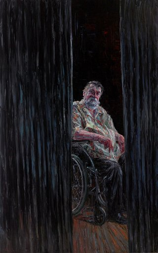 AGNSW prizes Jun Chen Ray Hughes, from Archibald Prize 2017