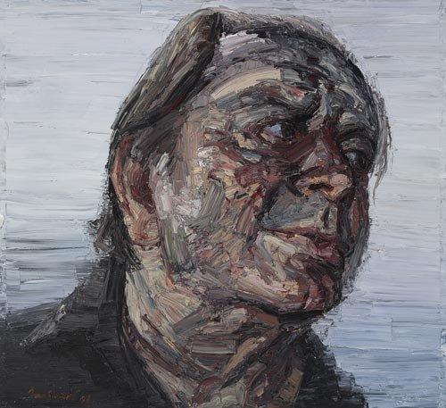 AGNSW prizes Jun Chen Ian Smith, from Archibald Prize 2008