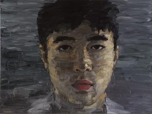 AGNSW prizes Kordelya Zhansui Chi Julius, from Archibald Prize 2008