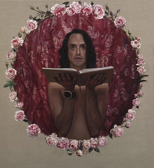 AGNSW prizes Yvette Coppersmith In the garland, from Archibald Prize 2008