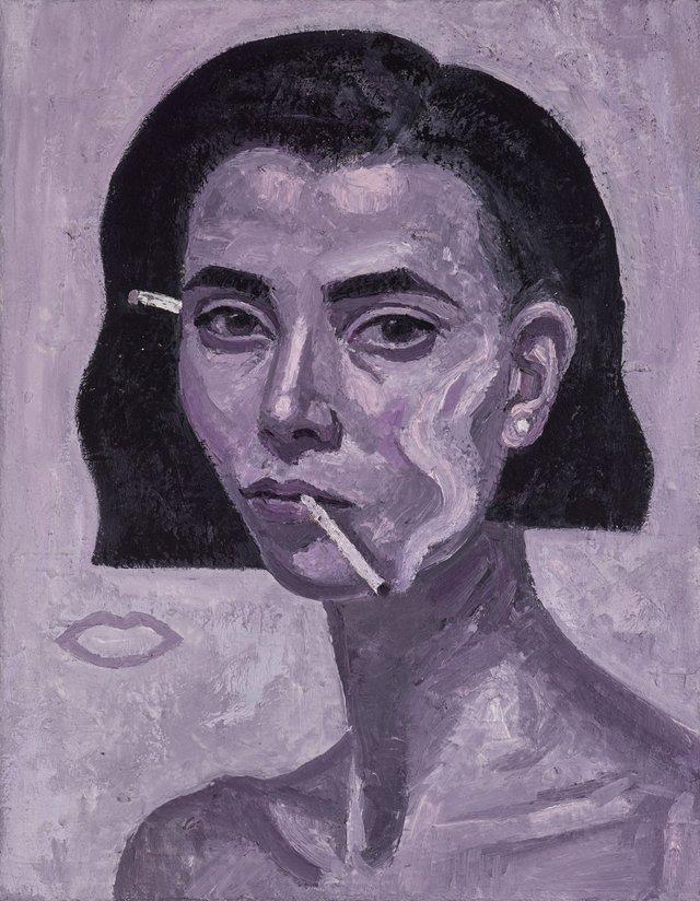 Rose Burn self-portrait