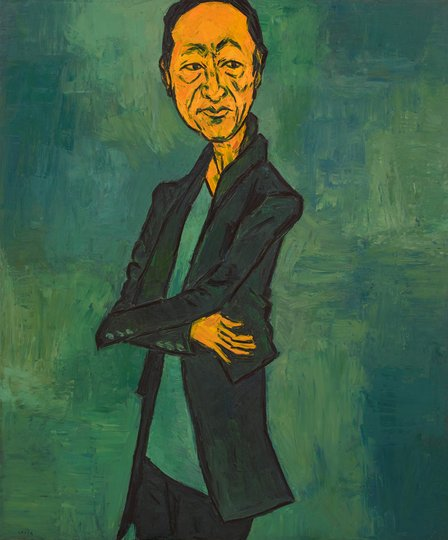 AGNSW prizes Tony Costa Simon Chan, from Archibald Prize 2017