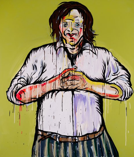 AGNSW prizes Adam Cullen Charlie, from Archibald Prize 2011