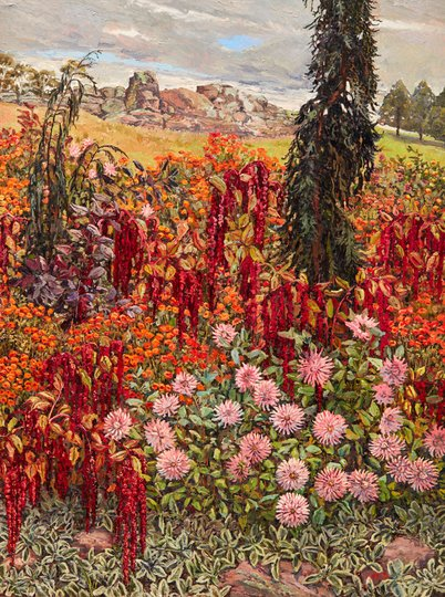 AGNSW prizes Lucy Culliton Love lies bleeding, from Wynne Prize 2017