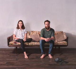 AGNSW prizes Jonathan Dalton Lottie and James, from Archibald Prize 2017