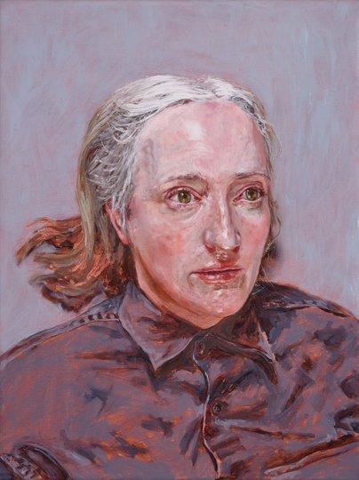 AGNSW prizes Amanda Davies Self-portrait, from Archibald Prize 2018