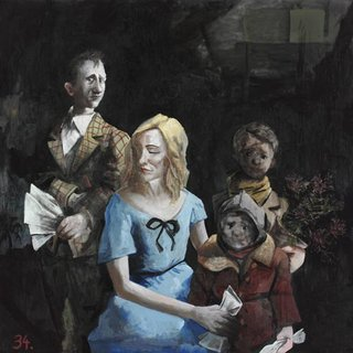 AGNSW prizes McLean Edwards Cate Blanchett and family, from Archibald Prize 2006