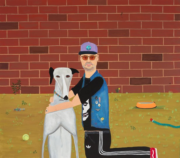 AGNSW prizes Marc Etherington Me and Granny, from Archibald Prize 2018