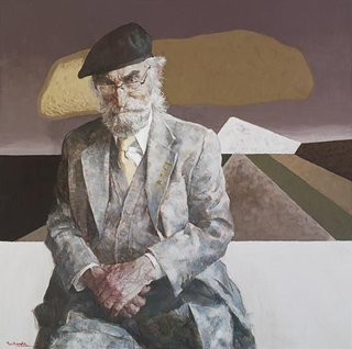 AGNSW prizes Hong Fu Dr Joseph Brown, from Archibald Prize 2008