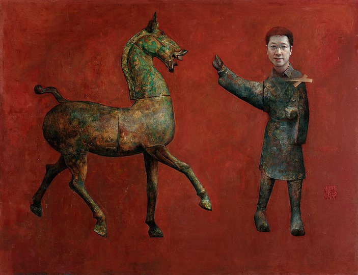 AGNSW prizes Huihai Xie A groom, from Archibald Prize 2006