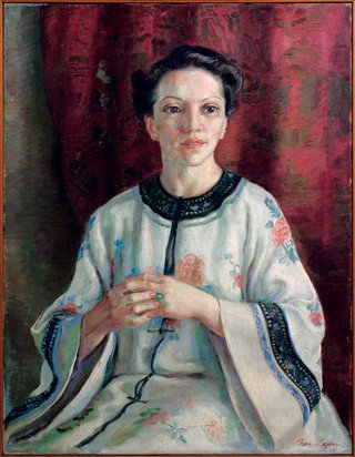 AGNSW prizes Nora Heysen Mme Elink Schuurman, from Archibald Prize 1938