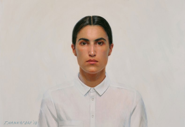 AGNSW prizes Tsering Hannaford Self-portrait, from Archibald Prize 2018