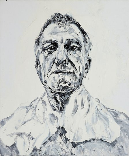 AGNSW prizes Nicholas Harding Treatment, day 49 (sorbolene soak), from Archibald Prize 2018