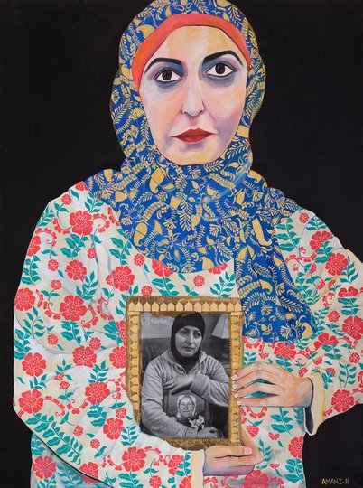 AGNSW prizes Amani Haydar Insert headline here, from Archibald Prize 2018