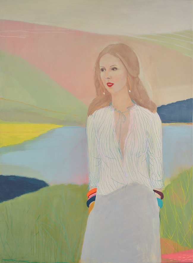 AGNSW prizes Belynda Henry Louise Olsen, a beautiful summary, from Archibald Prize 2016