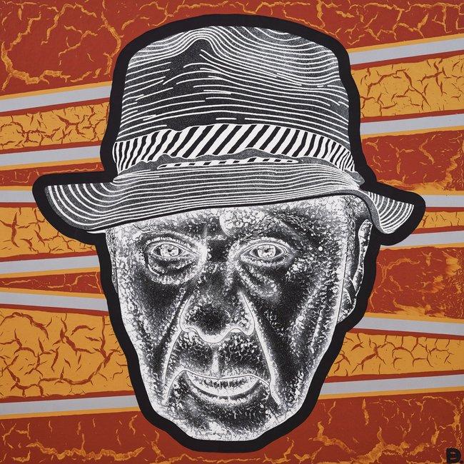 AGNSW prizes Blak Douglas Uncle Roy Kennedy, from Archibald Prize 2018