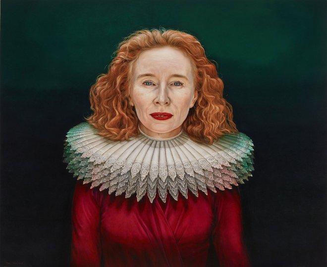 AGNSW prizes Paul Jackson Alison Whyte, a mother of the renaissance, from Archibald Prize 2018