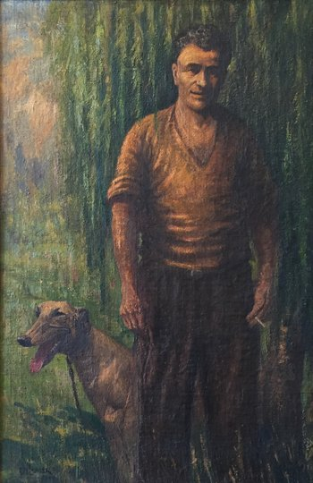 AGNSW prizes Charles W Lander George McKenny, from Archibald Prize 1945