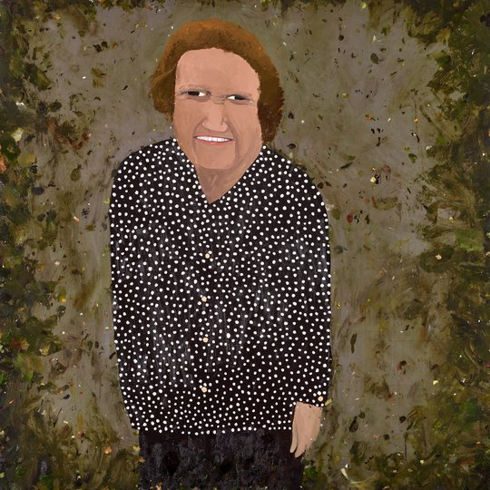 AGNSW prizes Richard Lewer Liz Laverty, from Archibald Prize 2017