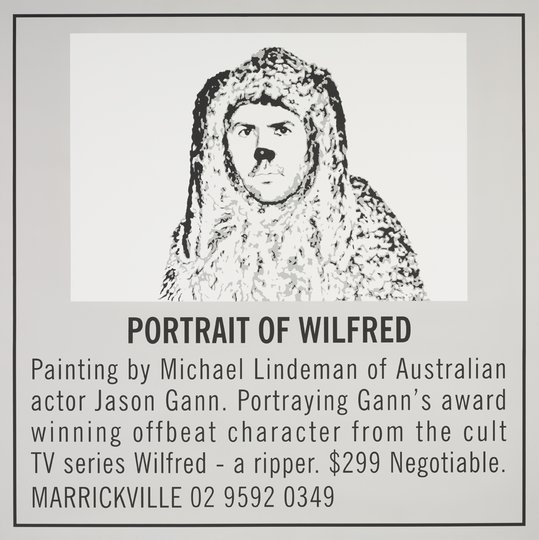 AGNSW prizes Michael  Lindeman Portrait of Wilfred, from Archibald Prize 2011